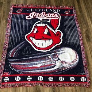 MLB Cleveland Indians blanket